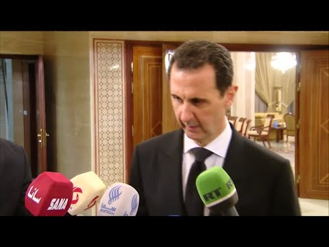 "Bashar al-Assad: ""France has been the standard-bearer of support for terrorism in Syria"""