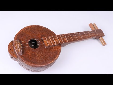 How to Make a Mini Acoustic String Musical instrument |DIY |