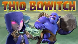 BOWITCH TH10 3 Star Guide | Top WAR Attacks Ep.2 | Clash of Clans