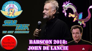 BABSCon 2018: John DeLancie Panel