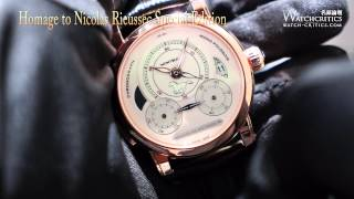 Watches & Wonder 2014 [Montblanc] Homage to Nicolas Rieussec Special Edition