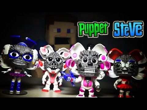 Five Nights at Freddys Funko Pop Exclusive Jumpscare Comic Con FnaF Figures Sister Location