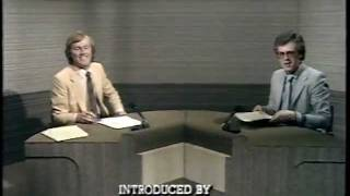 BBC TV Studio N last transmission - Sports NorthWest - Saturday 16th May 1981