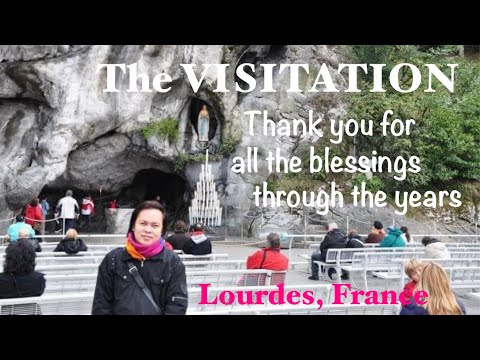 Lourdes, France and the surrounding places
