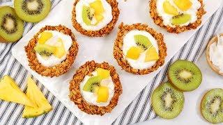 Make-Ahead Granola Cups   EASY Go-To Breakfast Recipes