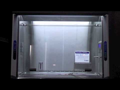 Labconco Biosafety Cabinet and Glove Box Smoke Test  YouTube