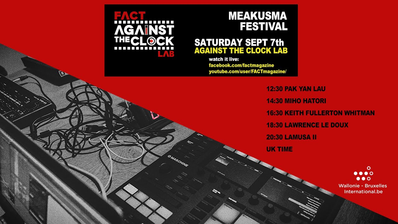 Keith Fullerton Withman - Against The Clock Lab at Meakusma Festival