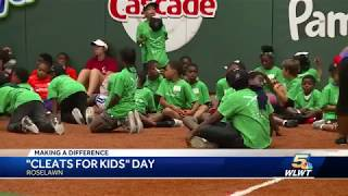 Vanessa Richardson- Kids get new kicks through Cleats for Kids