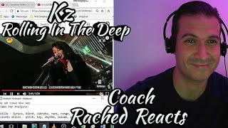 Vocal Coach Reaction & Analysis - Kz Rolling In The Deep - Singer 2018