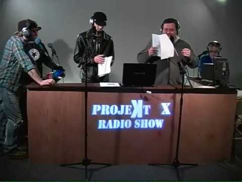 The Projekt X Show Jan 17, 2012 Podcast