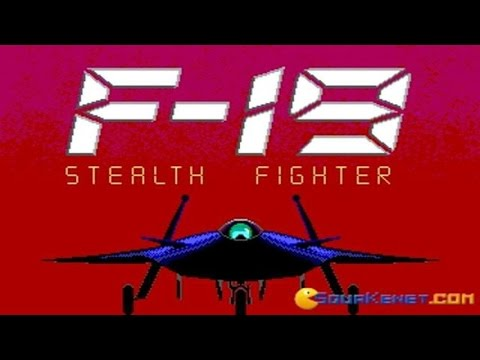 F19 - Stealth Fighter gameplay (PC Game, 1987)