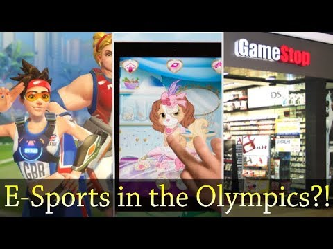 Disney Allegedly Sued For Spying On Kids, Esports In The Olympics, Gamestop Open On Thanksgiving