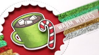 Holiday Card Series 2018 - Day 1 - Hot Cocoa Warm Wishes