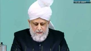 Urdu Friday Sermon 4 November 2011, Blessings of Financial Sacrifice by Ahmadiyya Muslim_clip7.flv