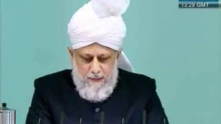 Urdu Friday Sermon 4 November 2011, Blessings of Financial Sacrifice by Ahmadiyya Muslim_clip7.flv