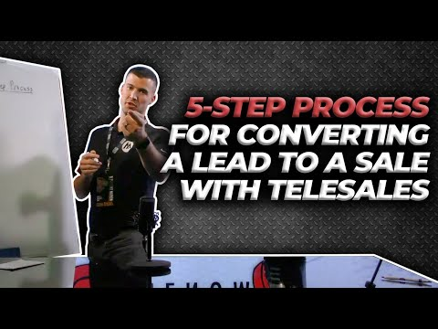 5-Steps For Converting A Lead To A Sale With Insurance Telesales!