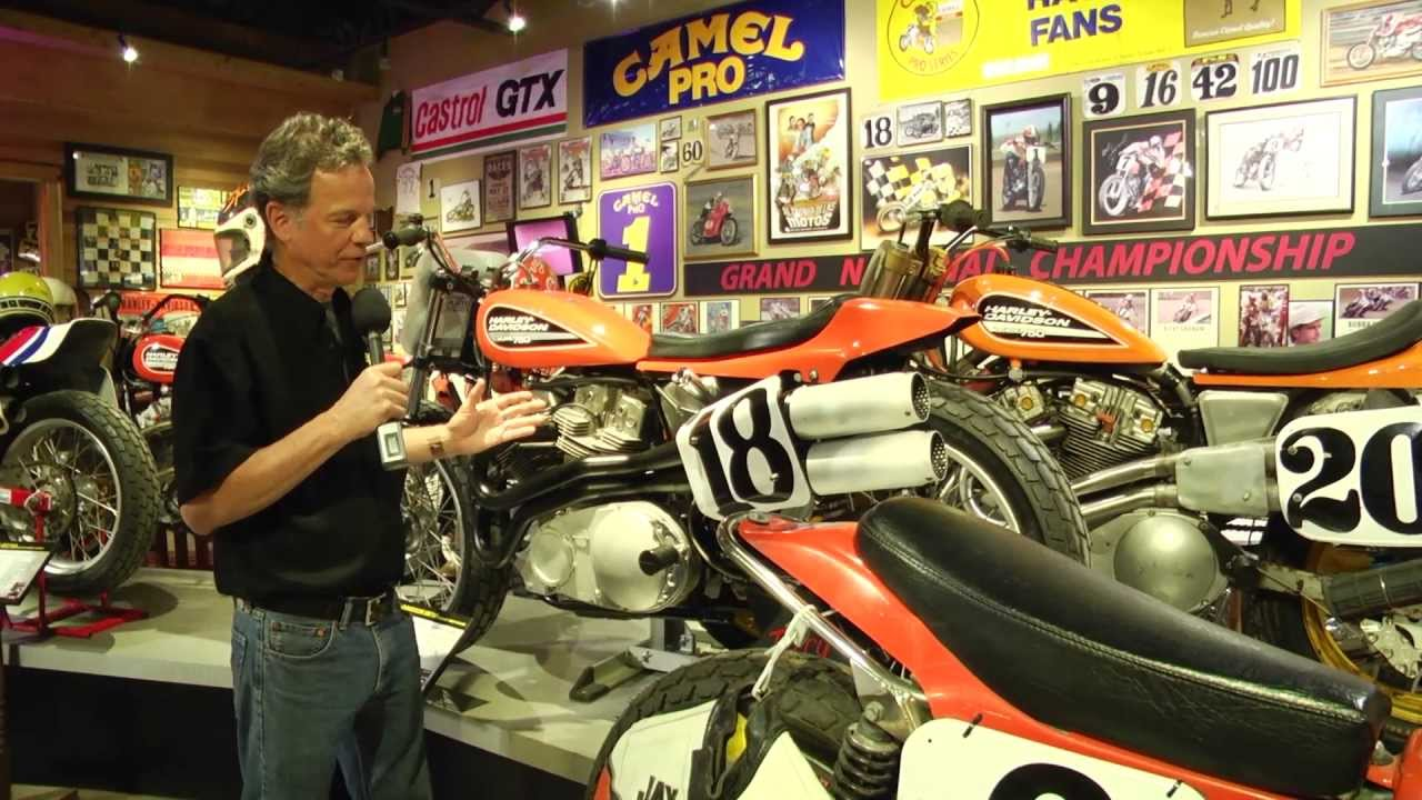 Dirt Track Heroes Exhibit at the National Motorcycle Museum