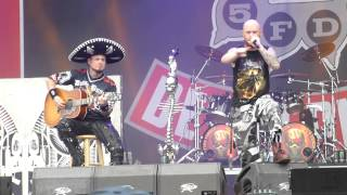 Five Finger Death Punch - Remember Everything - live @ Rock the Ring, Hinwil 21.6.15