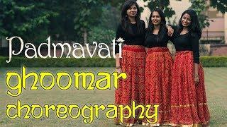 Padmavati : Ghoomar song   Dance choreography   Madhusree Prakash ft Divy Saxena and Kriti Dangi