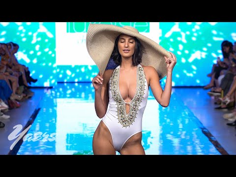 Luxe Isle Island Wear Bikini Fashion Show Miami Swim Week 2019 Art Hearts Fashion. http://bit.ly/2MFPP4N