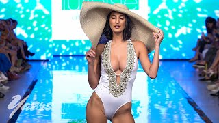 Luxe Isle Island Wear Bikini Fashion Show Miami Swim Week 2019 Art Hearts Fashion