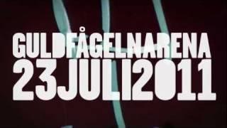 Håkan Hellström / The Ark - Guldfågeln Arena - 23 Juli 2011