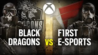 [ES] BLACK DRAGONS vs. F1RST ESPORTS | Play Day #3 | EliteSix S02 (XBOX)