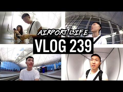 Airport Life & Guangzhou Arrival 我哋到廣州了  | 🇨🇳 Vlog 239