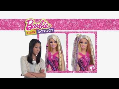 Куклы Барби Волшебные волосы  Barbie Hair Tattoos: Куклы-Пупсы. Обзоры игрушек для девочек и мальчиков! ID6839 фото