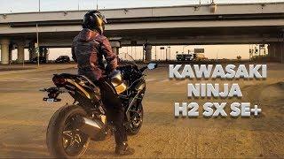 Спорт-Турист с Наддувом! Kawasaki Ninja H2 SX SE+. Обзор и Тест!