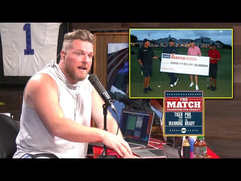 Pat McAfee's Thoughts On The Match 2: Tiger & Peyton Manning Vs Phil & Tom Brady
