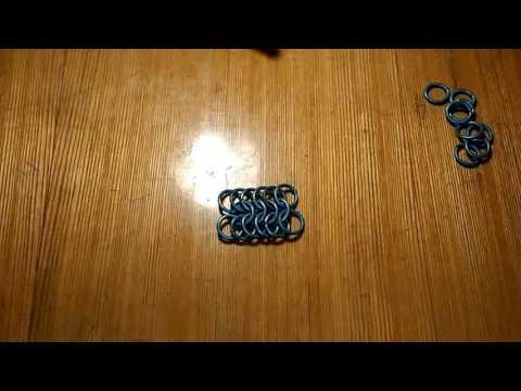 Плетение кольчуги 6 в 1