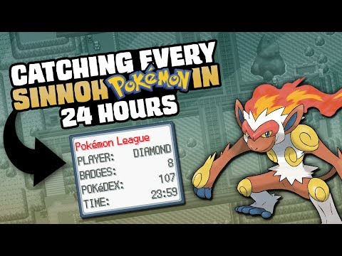 HOW EASILY CAN YOU CATCH EVERY POKEMON IN DIAMOND/PEARL/PLATINUM?