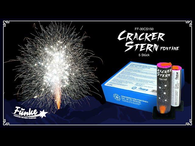 Crackerstern-Fontänen Kal. 30mm [Batch 2020]