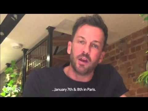 Message from Craig Parker for  Сraig speaking French.