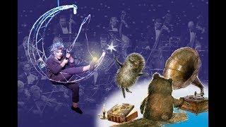 Новогодняя сказка для ёжика с оркестром // A New Year Tale for Hedgehog
