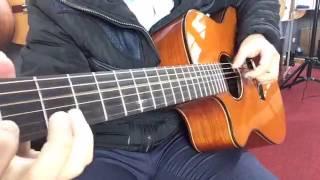 Văn Anh  - Test Guiar bolero Văn Anh audio B2 - Solo ngẫu hứng liên khúc các bài hát bolero
