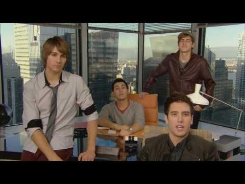 Big Time Rush & Nick Cannon - TeenNick Promo (2010)