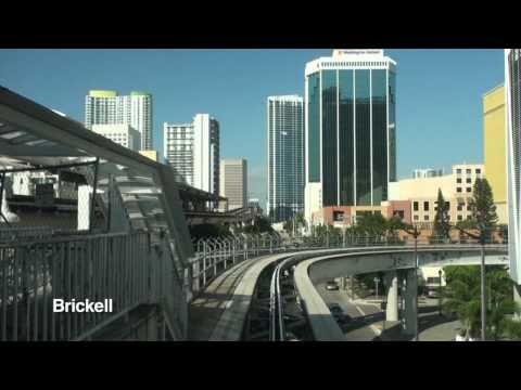 Miami Metromover - Brickell Loop Timelapse