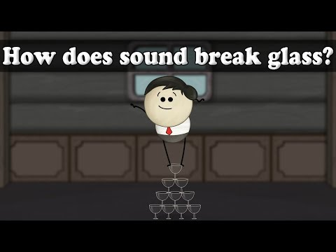 Resonance - How does sound break glass?   #aumsum #kids #science #education #children