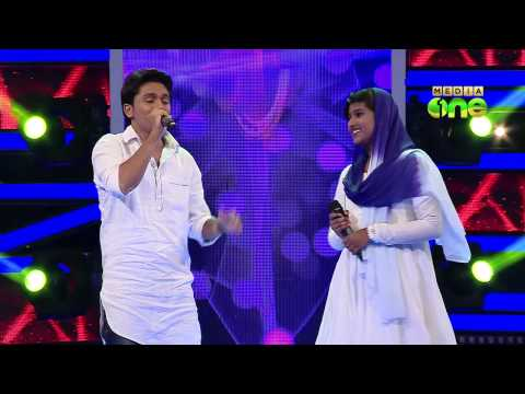 Pathinalam Ravu Season2 (Epi74 Part4) Shahabaz in Duet song round with Fathima Fidha