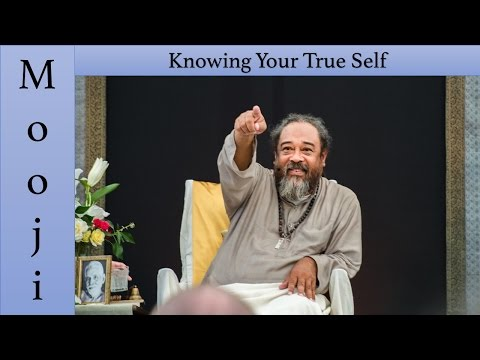 🕉😀 Mooji - Knowing your True Self is more important than Controlling Your Mind