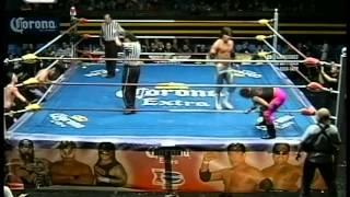 IWRG: Bushi, Freelance vs. Avisman, Gringo Loco, 2009/12/17