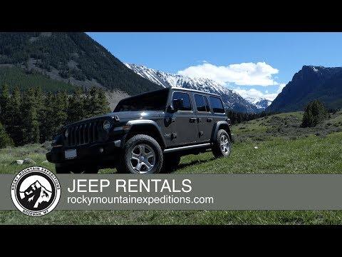 Explore Montana | Bozeman Car Rentals | Jeep Wrangler 4x4 Rentals