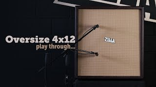Zilla Oversize 4x12 play through - Celestion Vintage 30's