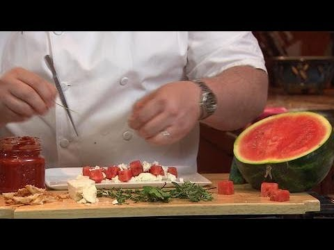 Watermelon Feta Salad with Herbs | Pick, Cook, Keep