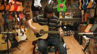 Yamaha F310 Acoustic Guitar Review by Rikki