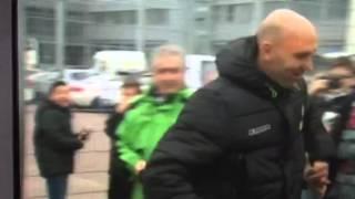 Borussia Mönchengladbach: Jubel und Applaus für Andre Schubert nach dem Sieg gegen Bayern München