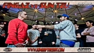 KOTD - 2012 Grand Prix R1 - Fingaz vs Sun Tzu