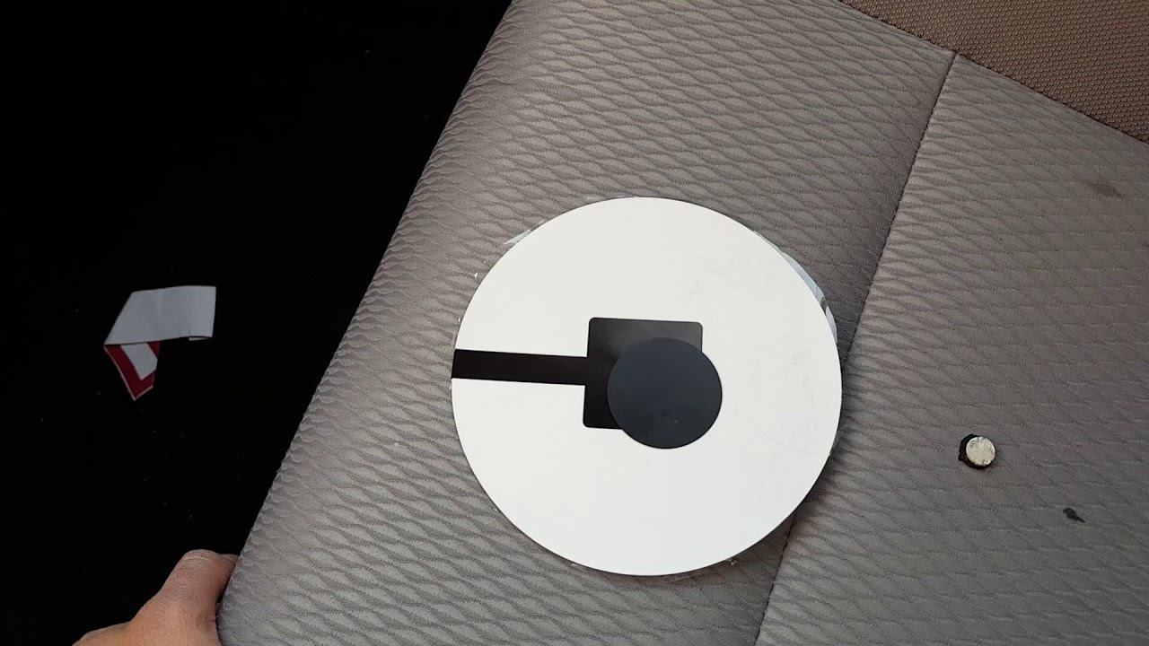 Uber Decal Detachable Magnetic